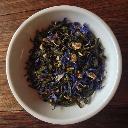 Australia Green Ginger & Blue Cornflower 30g Tea