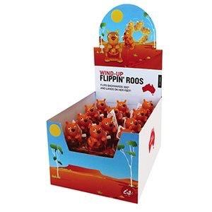Australia Wind Up Flippin Roo Toy