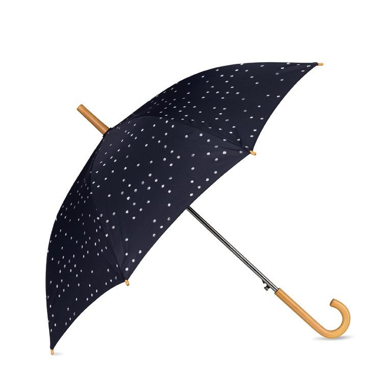 Australia Dieter Dot Umbrella w/Wooden Handle