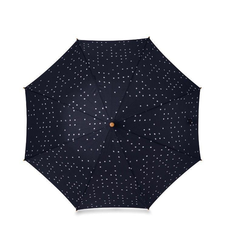Australia Dieter Dot Umbrella w/Wooden Handle