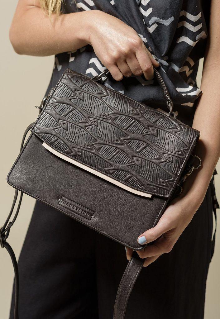 Australia Chapter Bag, Charcoal
