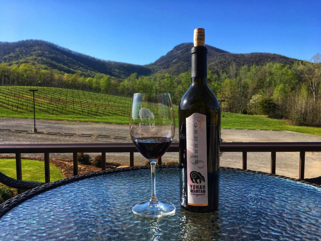 Yonah Mountain Vineyards Genesis 8