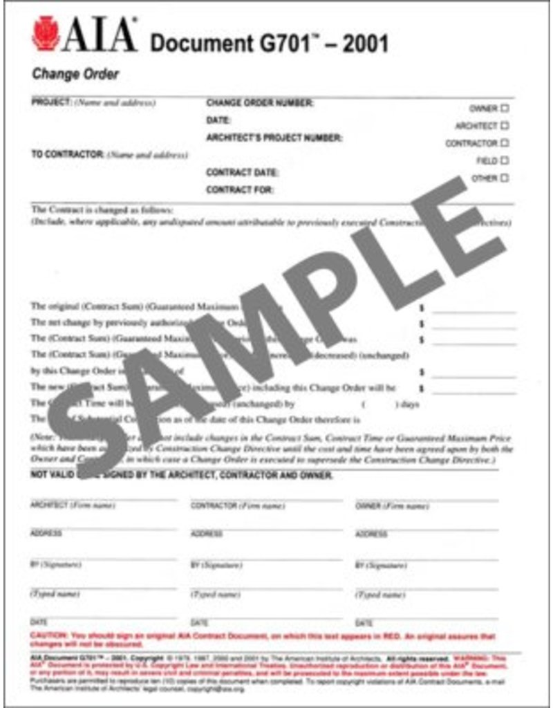 aia change order  Aia Change Order Form - Fill Online, Printable, Fillable, Blank ...