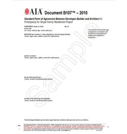 B series ownerarchitect agreements aia bookstore b1072010 formerly b1881996 standard form of agreement between developer platinumwayz