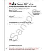 B143–2014, Standard Form of Agreement Between Design-Builder and Architect