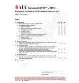 G715–1991, Supplemental Attachment for ACORD Certificate of Insurance 25-S