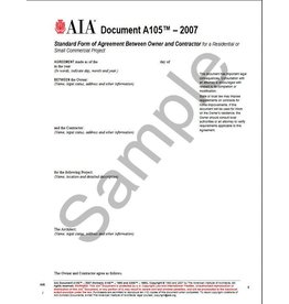 AIA Contract Documents - AIA Bookstore