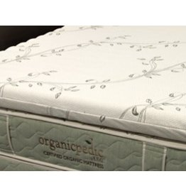 """OMI Organic Mattress Inc. OMI Organic Mattress Topper-Wave Natural Rubber/Full/3"""""""""""