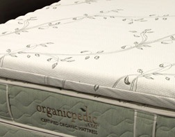 OMI Organic Mattress Inc. OMI Organic Mattress Topper-Wave Natural Rubber/TXL/3""""
