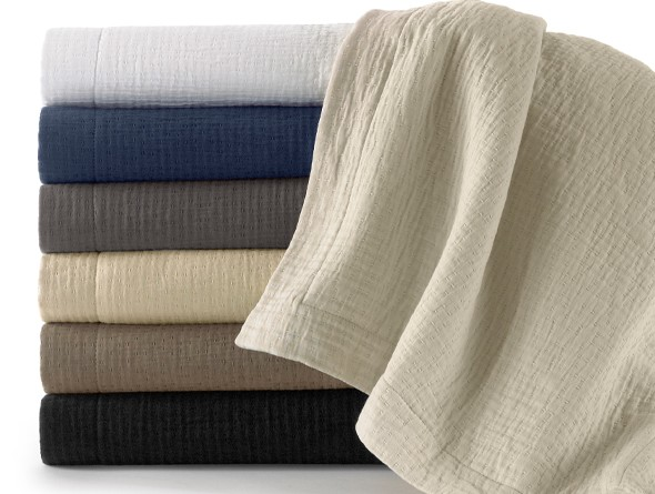 Peacock Alley Bradley Coverlet and Shams