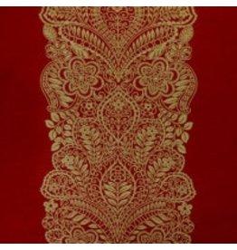 Traditions Decorative Pillow-Santaita Red 12 X 25