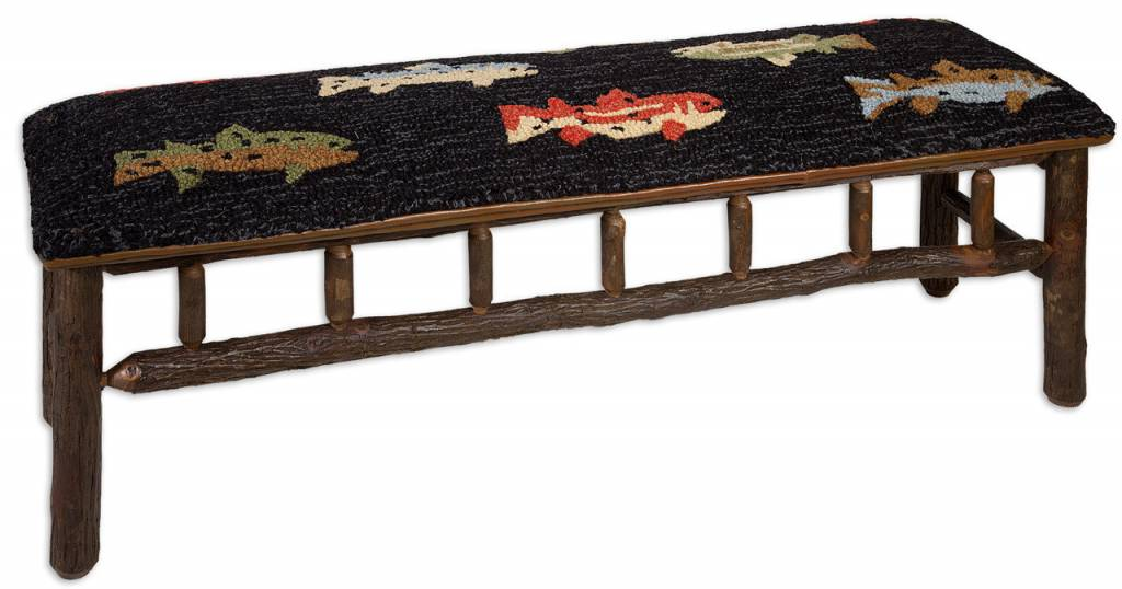 River Fish Benches and Stools