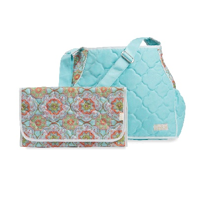 cinda b Baby Changing Bag-Casablance Sky