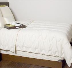OMI Organic Mattress Inc. OMI Organic Wool Comforter-King/100 oz. fill