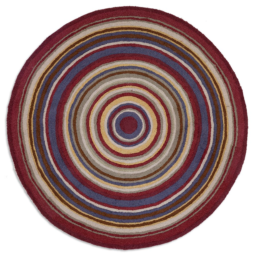 "Bullseye Circle Rug60"""" round"