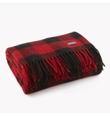 Faribault Woolen Mills Co. Buffalo Check Throw 50 x 60