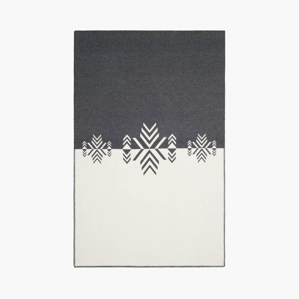 Faribault Woolen Mills Co. Vermillion Mirror Throw 50 x72