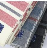 Faribault Woolen Mills Co. Cabin Stripe Wool Blanket