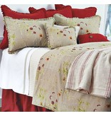 Traditions Viola Bedding  FN68 Reverse to Essex