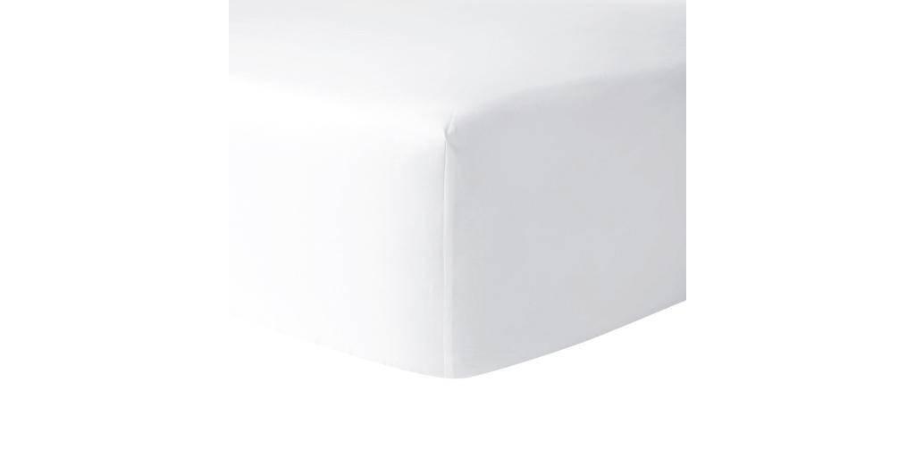 Yves Delorme Yves Delorme Athena Fitted Sheet-Blanc