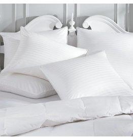 Pillow Protector 400tc cotton, damask, zippered