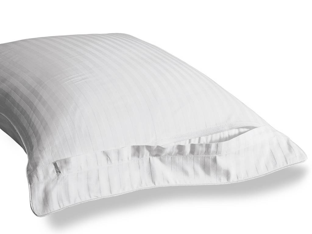 Pillow Protector 400tc cotton, damask, zippered