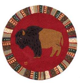 Rug Buffalo Round
