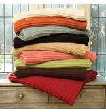 Daniel Stuart Pleat Knit Blankets