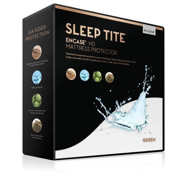 Malouf Mattress Protector-Sleep Tite Encased HD