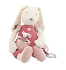 Moulin Roty Pink Active Capucine Rabbit