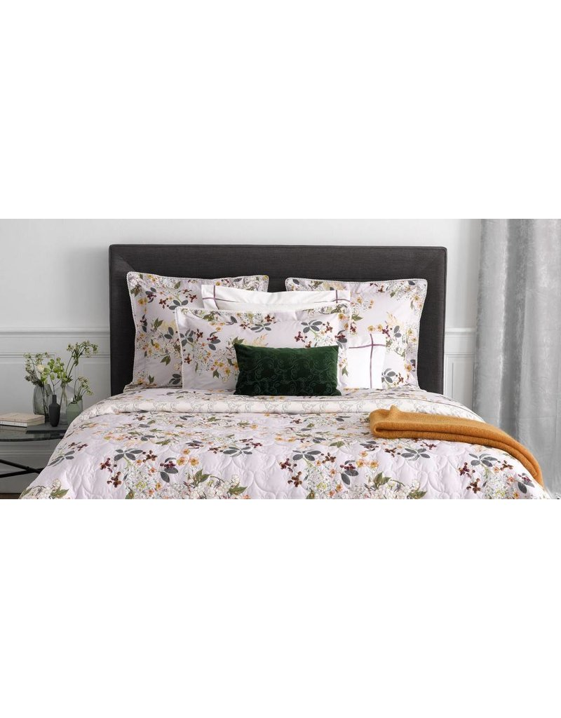 Yves delorme yves delorme louise bedding cotton percale for Yves delorme