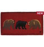 Mixed Bears Rug-2 x 4