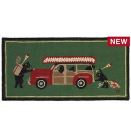 Woody Wagon Bears Rug