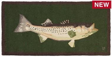 Bass Mount Rug-2' x 4'