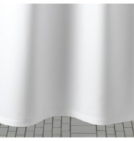 "Matouk Matouk Diamond Pique Shower Curtain 72"" x 72"""