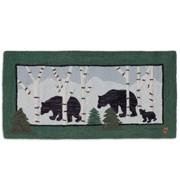 3 Bears In Birch Woods