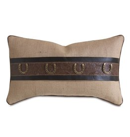Rustique Wheat Decorative PIllow/Horseshoes