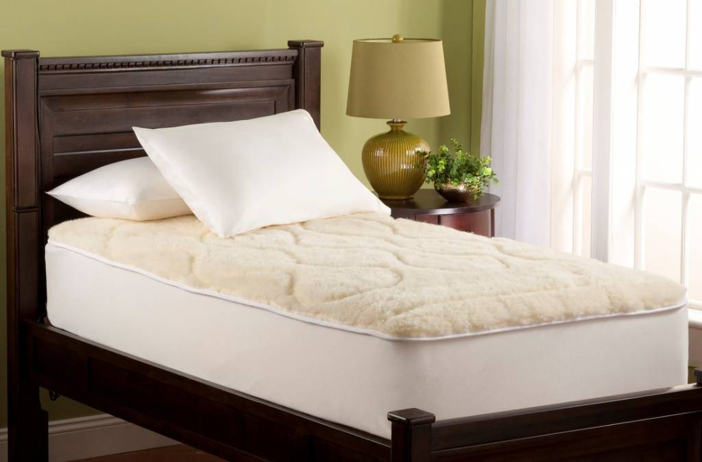 Mattress Pad-Wool Filled (Washable)