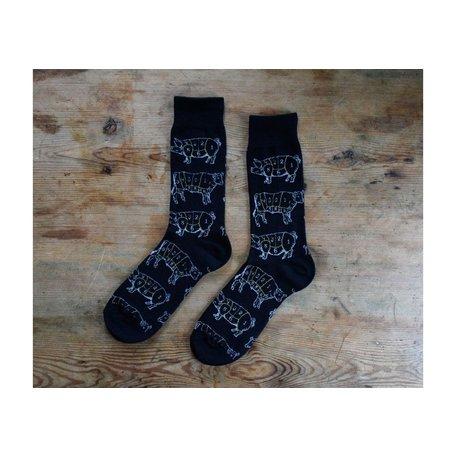 Men's Meat Lover Socks in Black