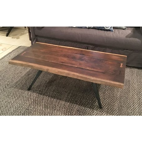Nelson Coffee Table in Seared Black