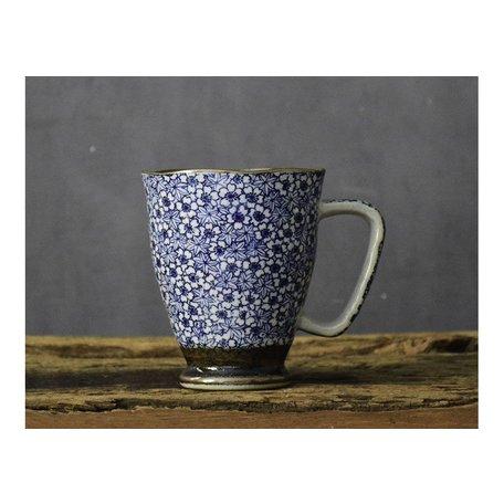 Kyo Komon Ceramic Mug