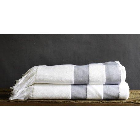 Sardinia Navy Stripe Beach Towel