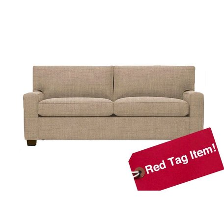 """Alex 71"""" Luxe Full Sleeper Sofa in Hollins Flax by MGBW"""