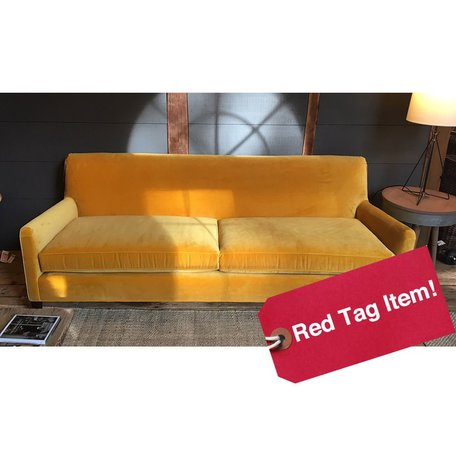 "Sloane Tailored 84"" Sofa in Vivid Saffron by MGBW"