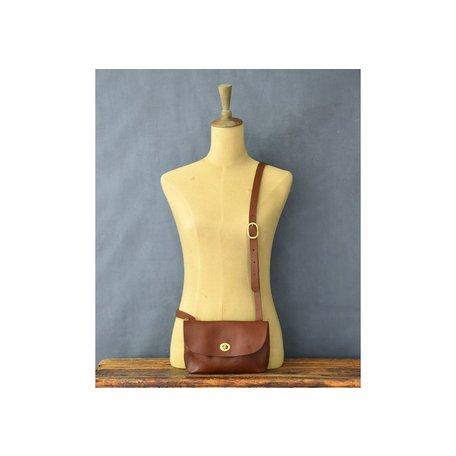 Handmade Leather Georgia Bag in Tan