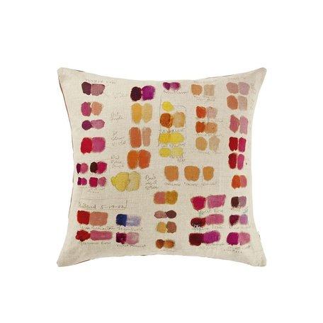 John Derian Mixed Tone Fuchsia Cushion
