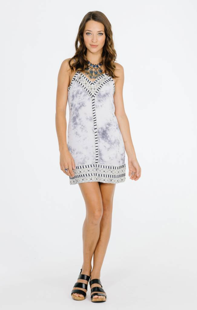 Raga LA Raga In A Dream Short Dress Grey