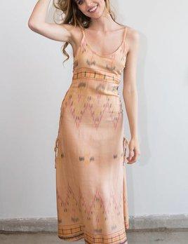 Cleobella Cleobella Klemence Slip Dress Terracotta Peach
