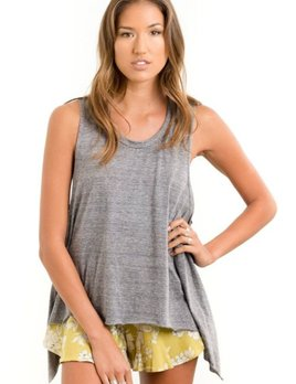 Saltwater Luxe Saltwater Luxe Salty Air Tank Grey
