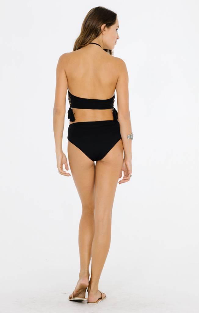 Raga LA Raga LA Dominica Bikini Top Black
